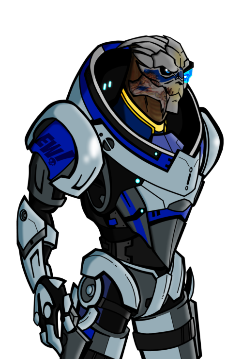 chakwas:  Garrus ME3 Armor by *Uncle-Deadward