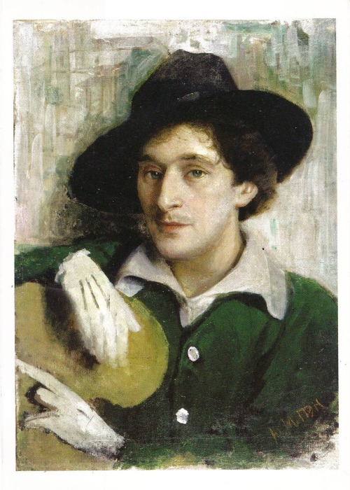 Portrait of Marc Chagall,  par Yehuda (Yury) Pen @credits  Marc Chagall (7 July [O.S. 24 June] 1887 – 28 March 1985), was a Belarusian-Russian-French artist associated with several major artistic styles and one of the most successful artists of the 20th century. He was an early modernist, and created works in virtually every artistic medium, including painting, book illustrations, stained glass, stage sets, ceramic, tapestries and fine art prints.