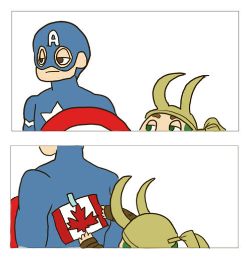 fyeahsuperheroes:  Happy Canada Day!