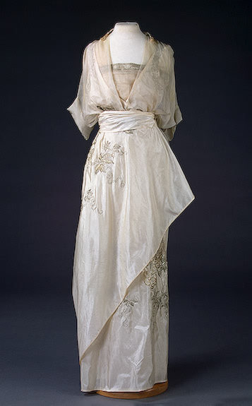 Evening Dress 1910s The Hermitage Museum