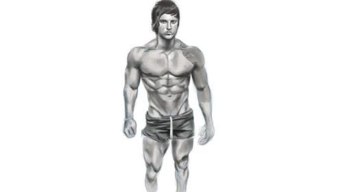 miscer:  Amazing drawing a zyzz. (no nuthug)