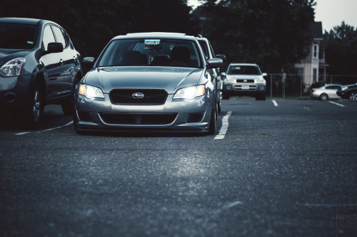 Crusher Starring: Subaru Legacy (by Evoked Photography)