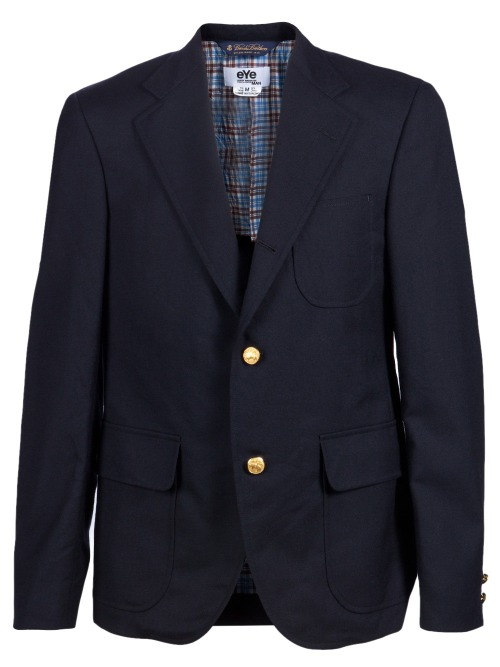 I don't care.  I want a navy blazer with gold buttons, especially this one.
