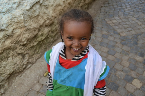 tribal-beauty: A little girl that asked for a picture in Harar, Ethiopia.