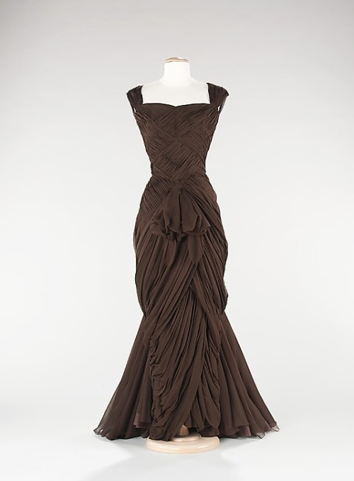 Evening Dress Jean Dessès, 1960 The Metropolitan Museum of Art
