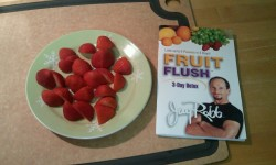 Day 3 of Jay Robb - 3 day detox Fruit Flush