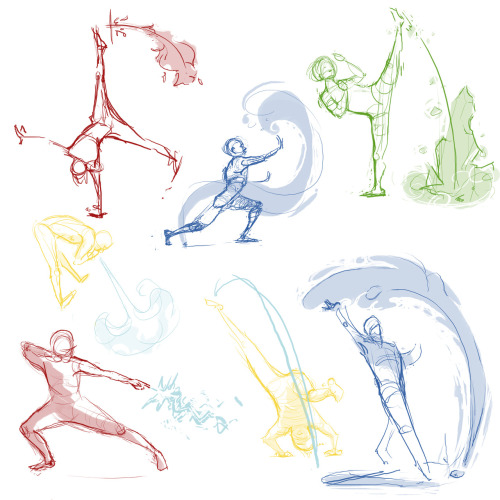 24ths theme was BENDERS. lol So here's some bending gesture drawings, drawing bending (& making it look natural) is so much harder then I thought it would beeeeee My art: http://oo-fotisha-oo.deviantart.com/