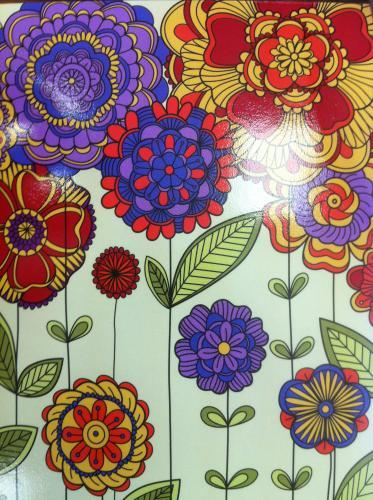 From country:Russia Distance:6,963 km Traveled:14 days  Flower postcard!!! I love flower postcard!!