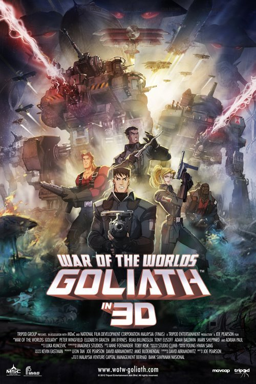 "So after five years, this is going Premiere at SDCC  ""War of the Worlds: Goliath""  http://www.wotw-goliath.com/   More great news coming very very soon.  They are so much fun to work with."