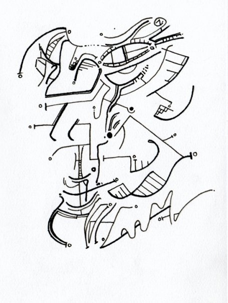 Ghos Pen Drawing Ben Thompson Drawn  benthompsondrawn.tumblr.com/
