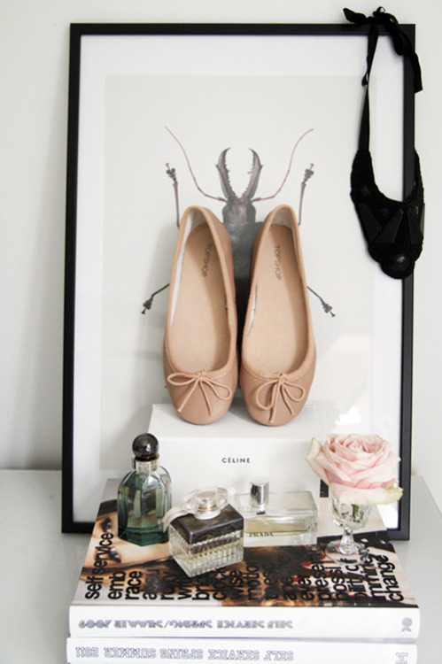 z-araz:  mirnah:  The perfect nude ballerinas.  This is so sweet