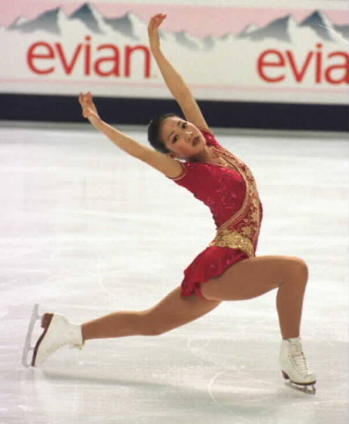 beautiful-shapes:  Michelle Kwan Worlds 1997, FS