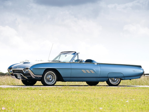 1963 Ford Thunderbird Sports.