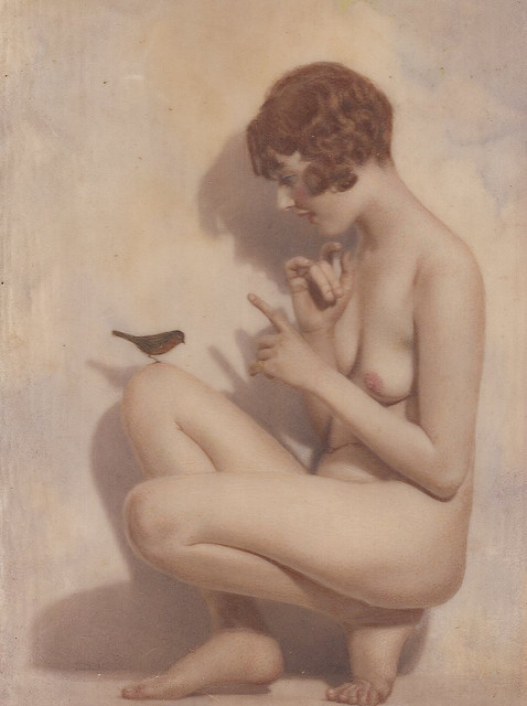 soyouthinkyoucansee:  My little bird (Maud basil brown)  by Angus basil brown 2 x posted