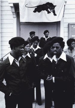 Black and White revolution Black Panther Party