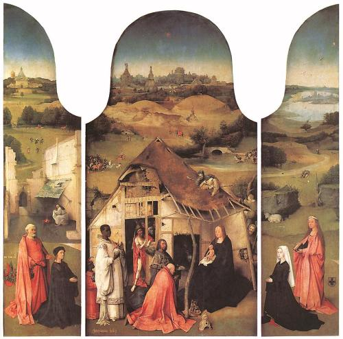 Adoration of the Magi Artist: Hieronymus Bosch