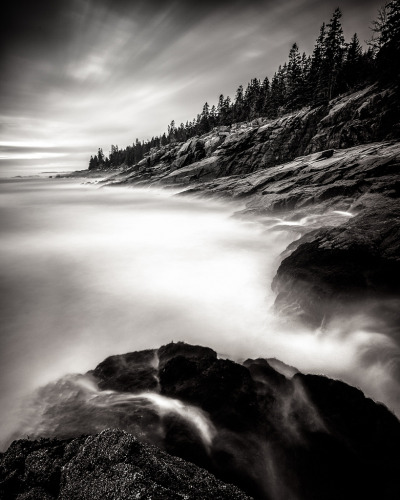 Acadian Coast, Seal Harbor, Maine, USA © Nate Parker Photography