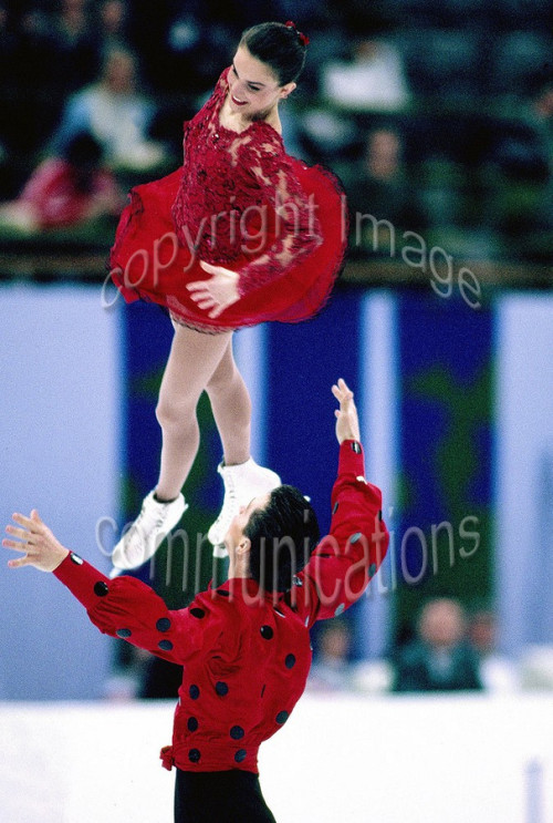 beautiful-shapes:  Gordeeva and Grinkov 1994 Olympics, SP