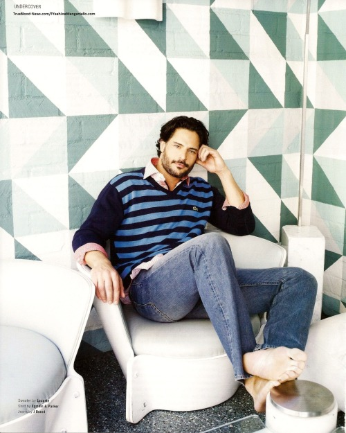 fuckyeahjoemanganiello:  Maniac Magazine, July -August 2012 - men's issue   (via TB-News/@JodyKann)