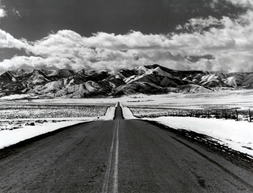 Wasatch Mountains, Nebraska, 1940s photo by Arthur Rothstein