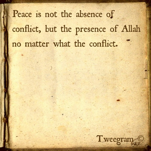 islamic-quotes:  Peace