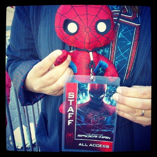 #igersitalia_swspidermantour #amazingspiderman Spiderino STAFF all access! (via Photo by screenweek_pic • Instagram)