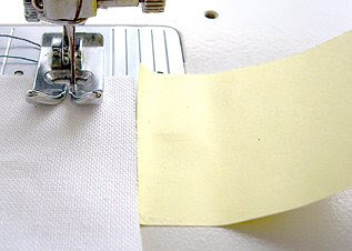 How to sew with nice even seam allowances or topstitching
