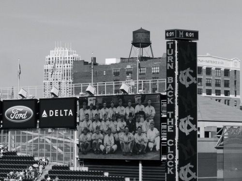 mightyflynn:  Target Field June 30, 2012 Photo by TS Flynn  Looks great! Contrast it with this.