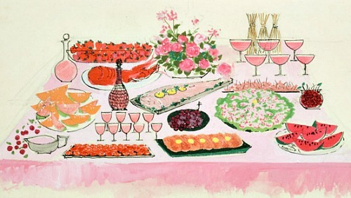 Unknown (British) The Pink Table Mid-20th century