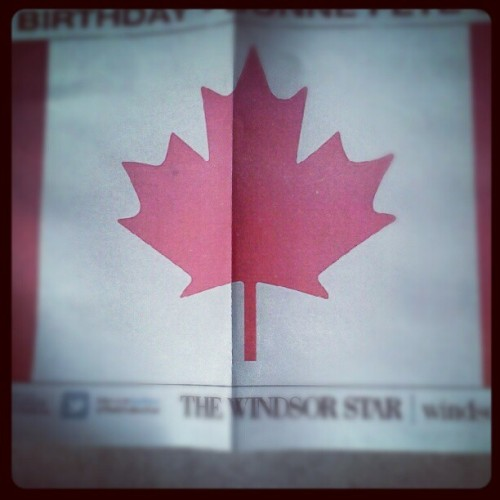 Happy Canada Day (Taken with Instagram)