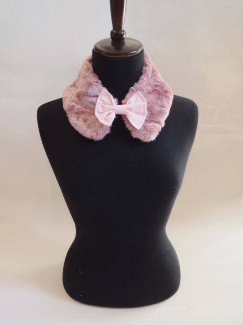 Pink Fur Collar by The Poison Sugar