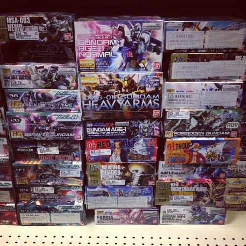 Found these gems at HobbyTown with Andy.  (Taken with Instagram at HobbyTown USA)