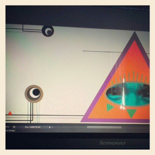 Working on my facebook cover hehe… (Taken with Instagram)