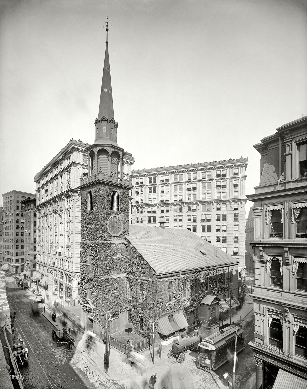 Boston, 1905 (via Shorpy)