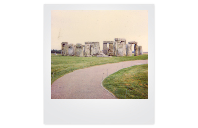 """Don't believe the hype. Stonehenge really is just a pile of rocks. I found the sheep across the road more interesting. Not being an asshole. You can ask my Mum- she's the one that found my playing with the sheep.""- Page 13 of Journal #3 (July 18th, 1999 - April 10th, 2000)"