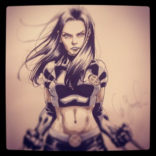 X-23 (Taken with Instagram)