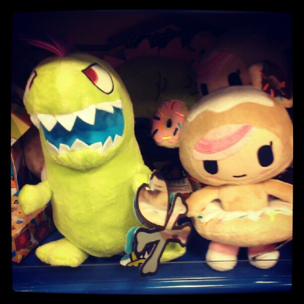 Tokidoki plush toys! (Taken with Instagram)