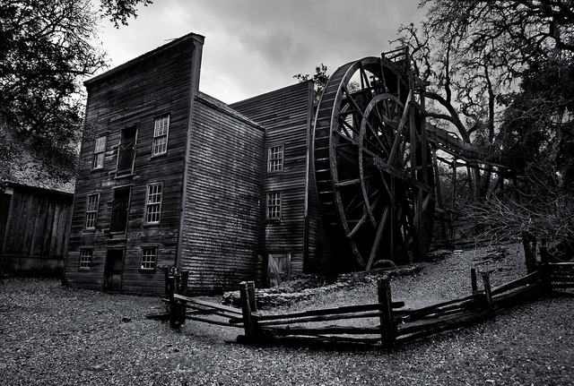 Bale Grist Mill by Eric Leslie on Flickr.