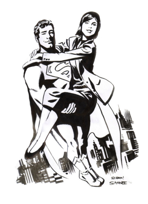 Superman & Lois Lane by Chris Samnee
