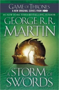 "Currently reading - ""A Clash of Kings"" by George R. R. Martin. Not the greatest writing in the world, but perfect for summer."