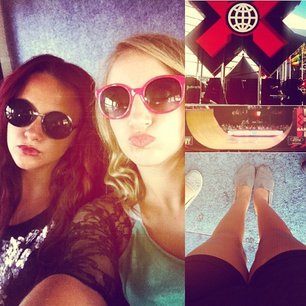 ❌games, Disneyland and now a cruise with my sista fren!  (Taken with Instagram at Los Angeles )