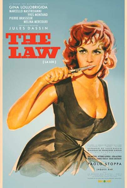 The Law, movie poster (1959) Source: Like… Dreamsville