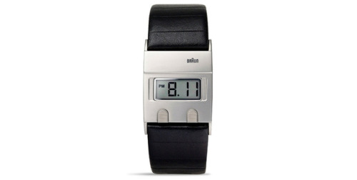 thisistheverge:  Dieter Rams' Braun watch returns after 30 years   WANT