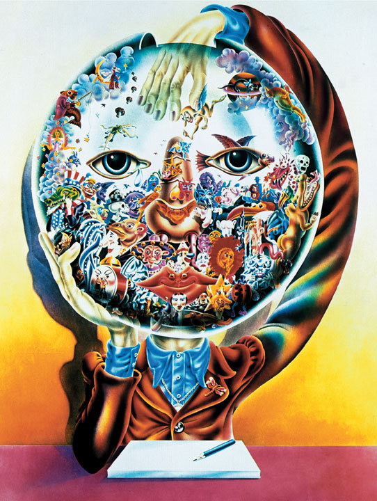 whippedcreamchargers:  Alan Aldridge, Across the Universe (1969)