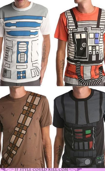 muchodeto:  Star Wars t-shirts