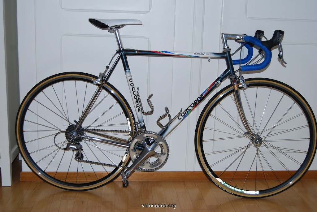 (via Concorde Aquila Columbus SLX Shimano Dura Ace 7800 54 cm. on velospace, the place for bikes)