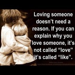 Loving someone doesn't need a reason #true #love #relationships #truelove #happiness #quote  (Taken with Instagram)