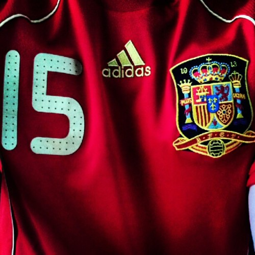 Va España! #eurocup #Spain (Taken with Instagram)