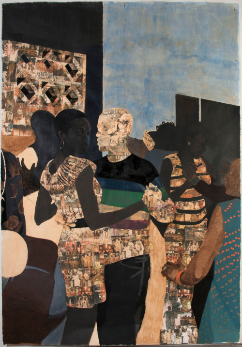 blackcurator:  i refuse to be invisible (2010) njideka akunyili