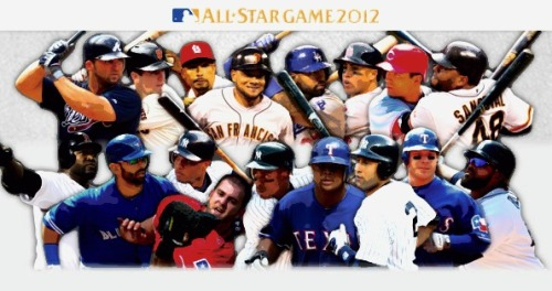 Introducing: Your 2012 MLB All-Star starters! http://atmlb.com/N5vvCv